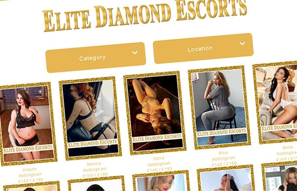 Elite Diamond Escorts, Midlands Agency