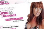 Beau Diamonds, Busty British Midlands Escort