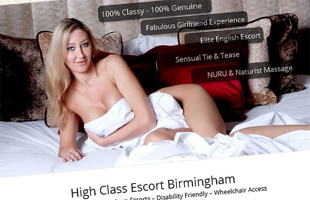 Chardonnay, High Class Birmingham Incalls